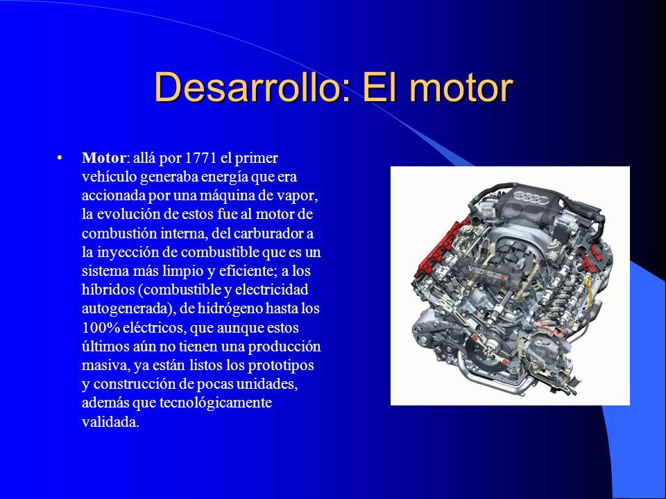 Desarrollo: El motor