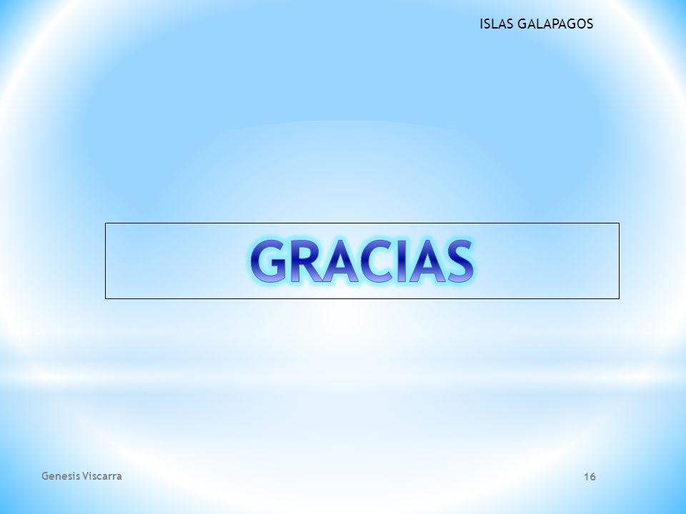 GRACIAS Genesis Viscarra