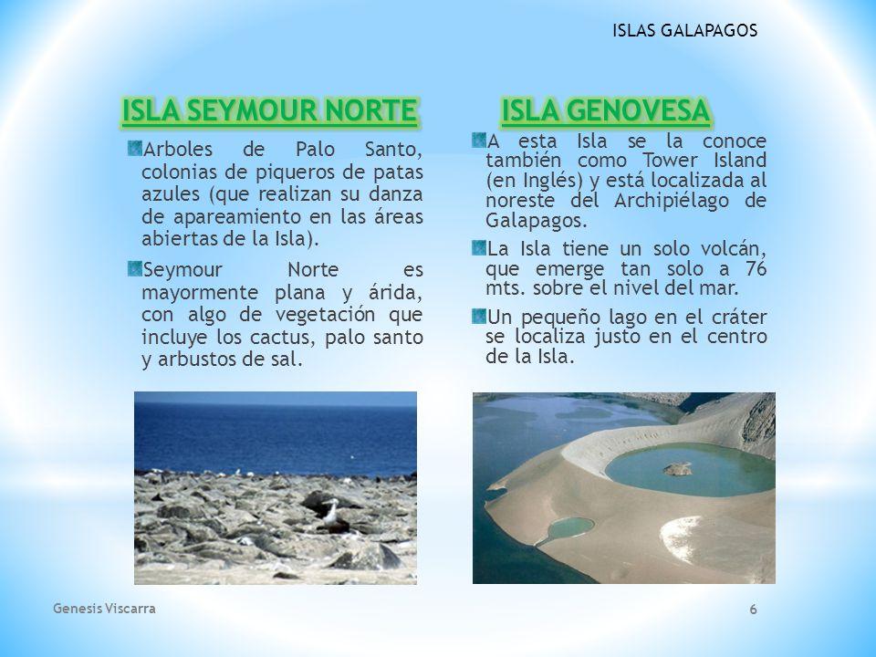 ISLA SEYMOUR NORTE ISLA GENOVESA