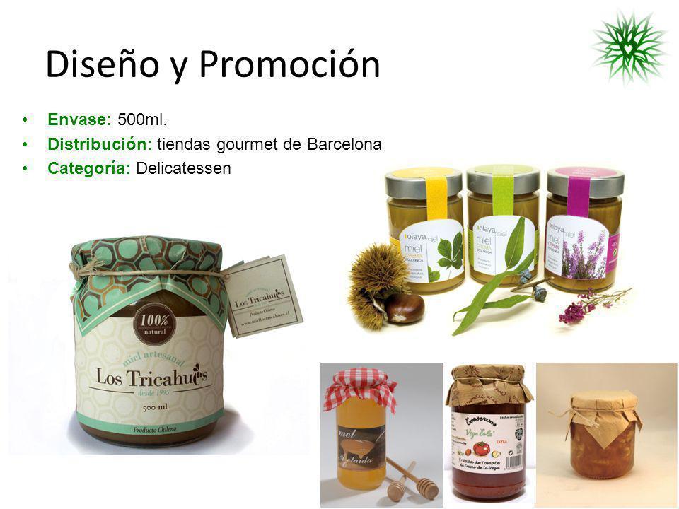 Diseño y Promoción Envase: 500ml.