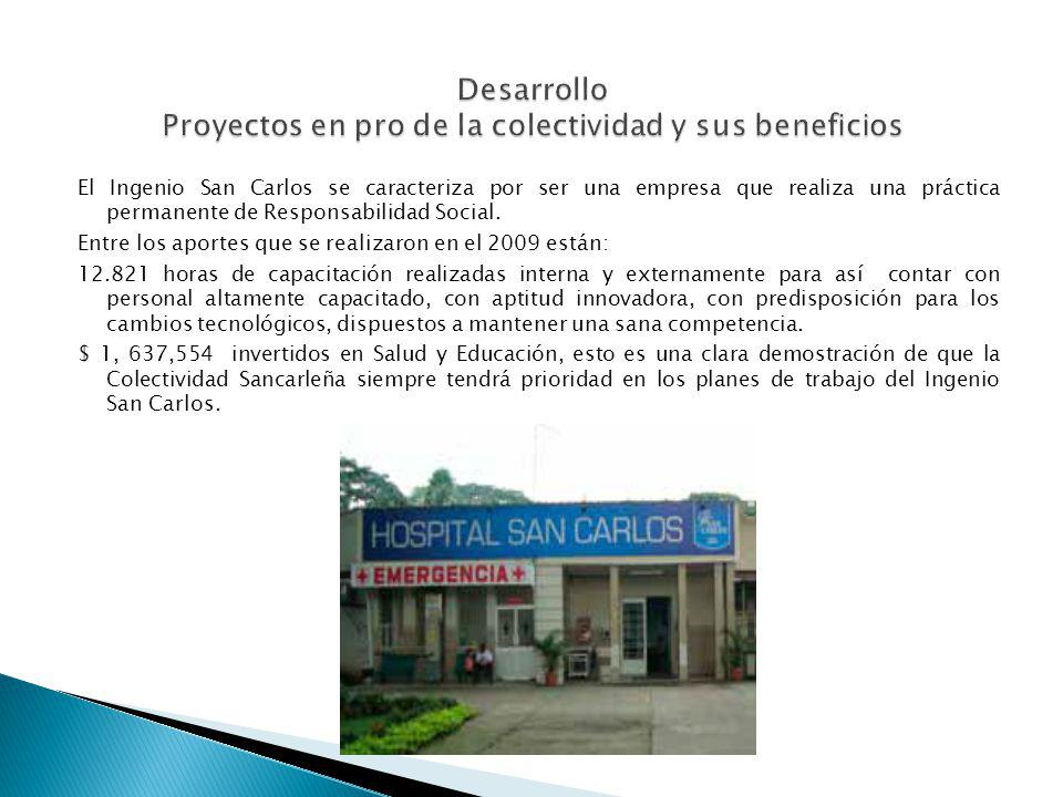 Desarrollo Proyectos en pro de la colectividad y sus beneficios