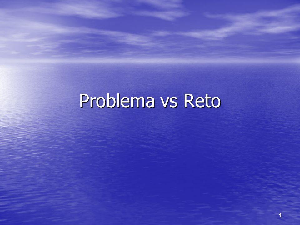 Problema vs Reto