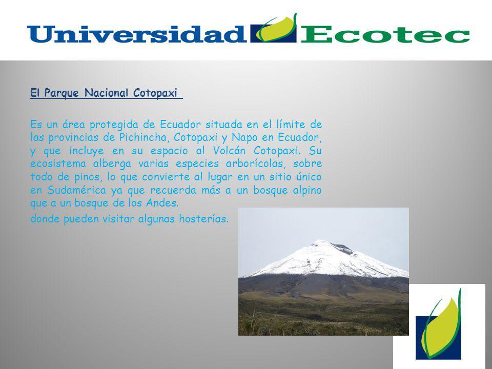 El Parque Nacional Cotopaxi