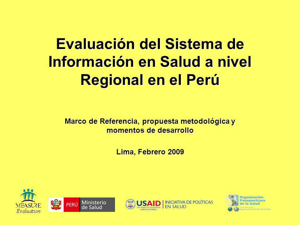 Marco de Referencia, propuesta metodológica y momentos de desarrollo