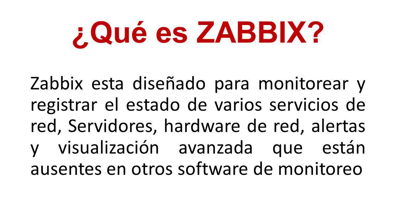 ¿Qué es ZABBIX