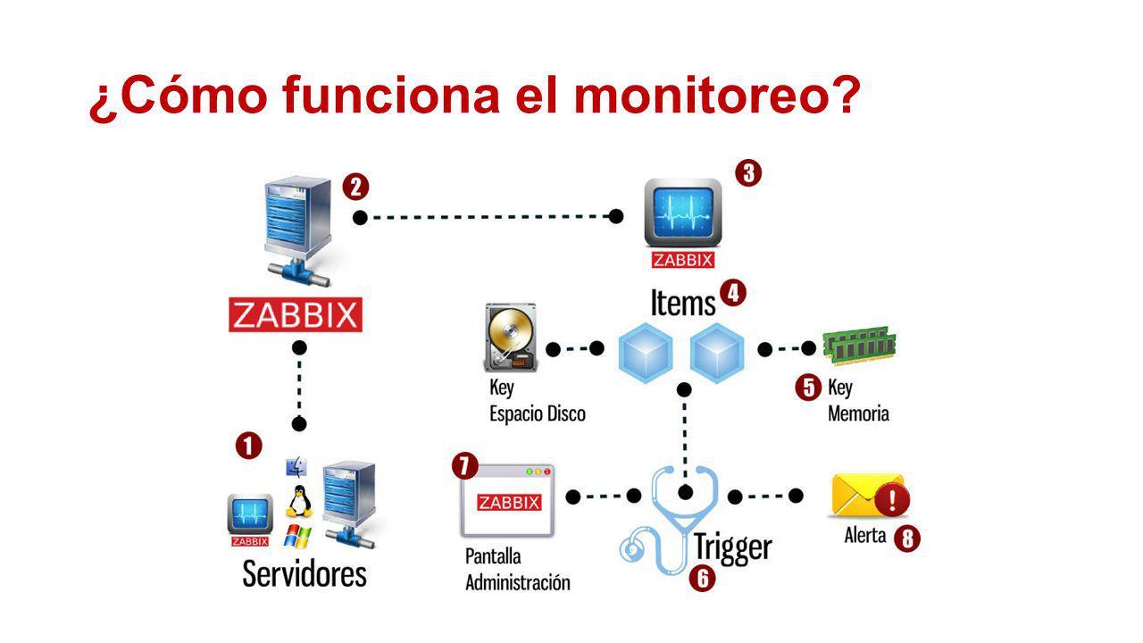 ¿Cómo funciona el monitoreo