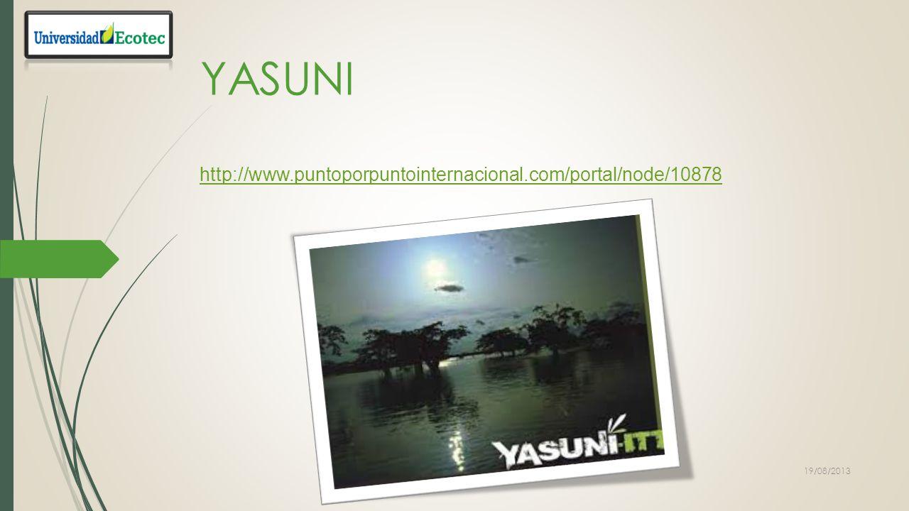 YASUNI http://www.puntoporpuntointernacional.com/portal/node/10878