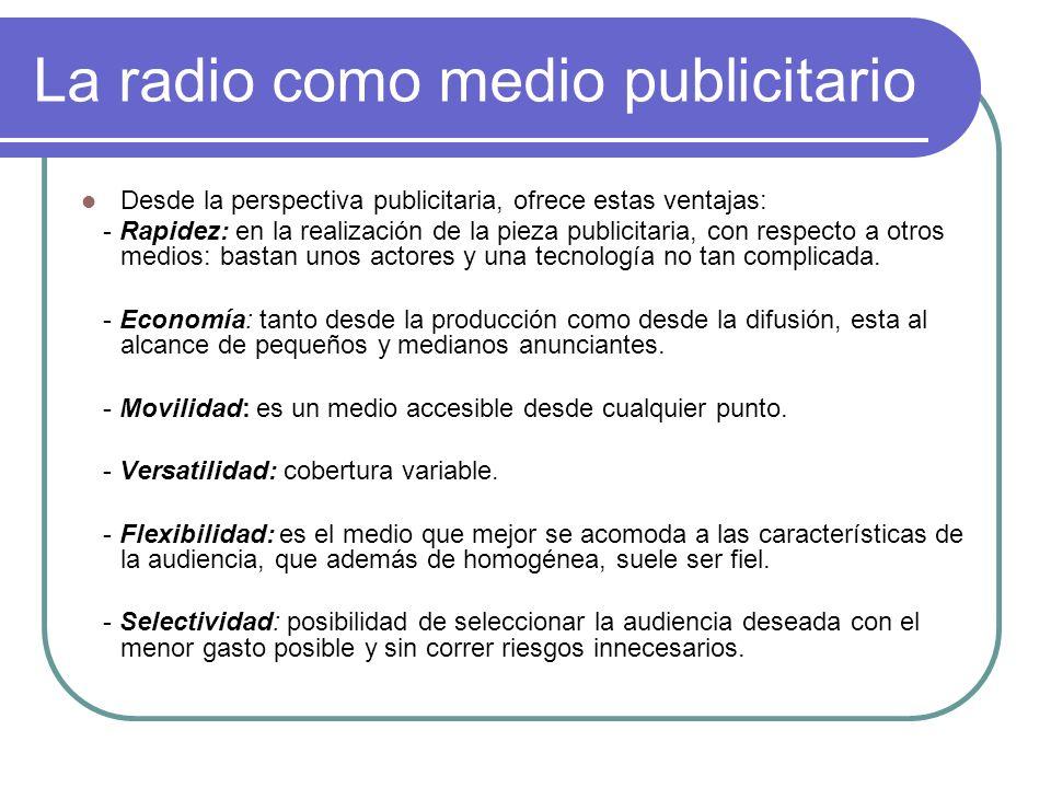La radio como medio publicitario