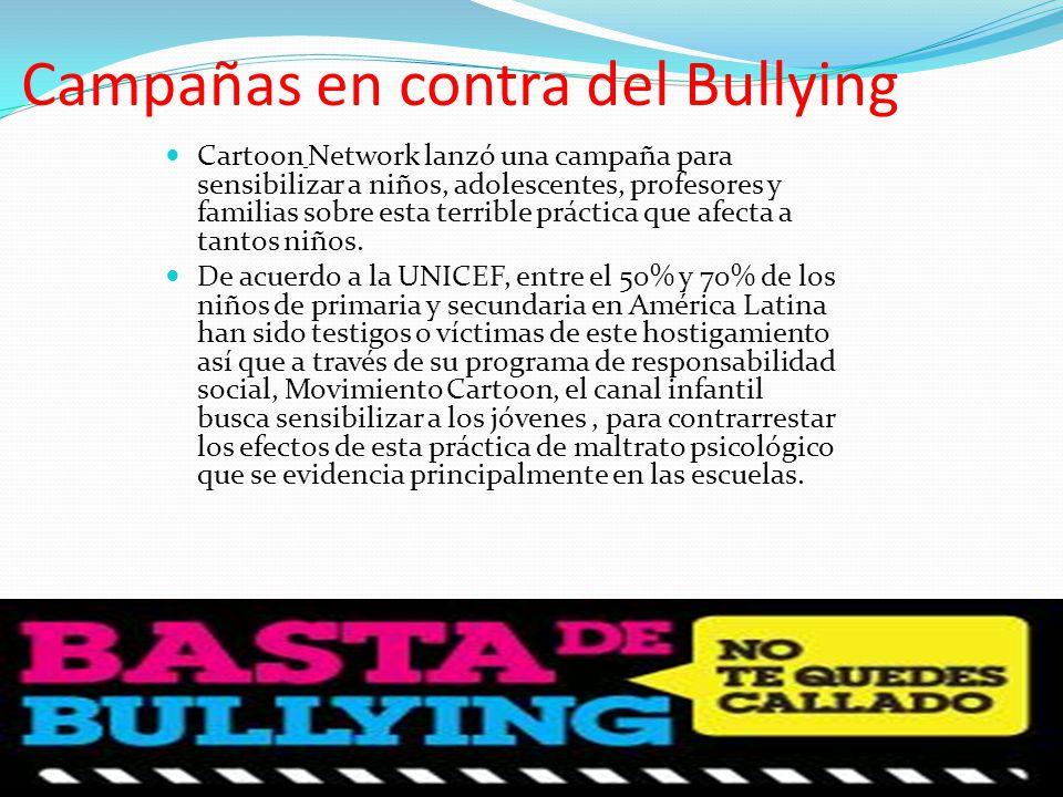 Campañas en contra del Bullying