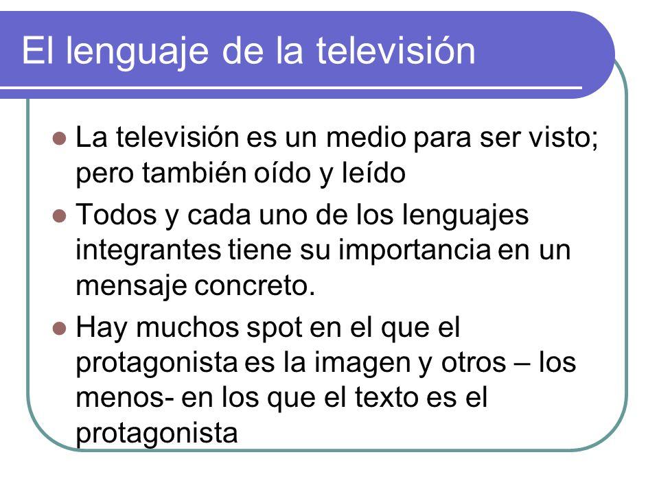 El lenguaje de la televisión