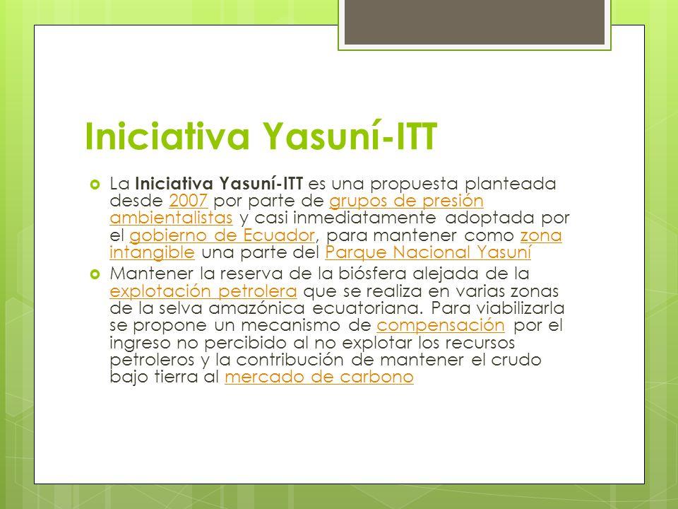 Iniciativa Yasuní-ITT
