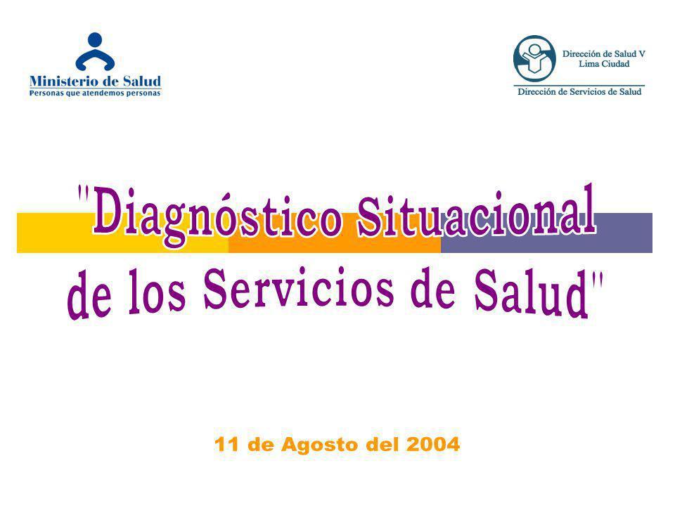 Diagnóstico Situacional de los Servicios de Salud