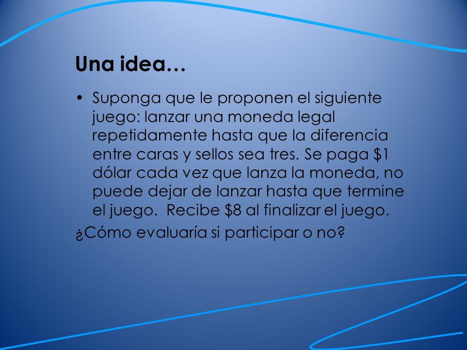 Una idea…