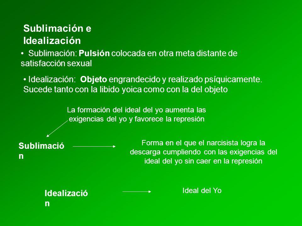 Sublimación e Idealización