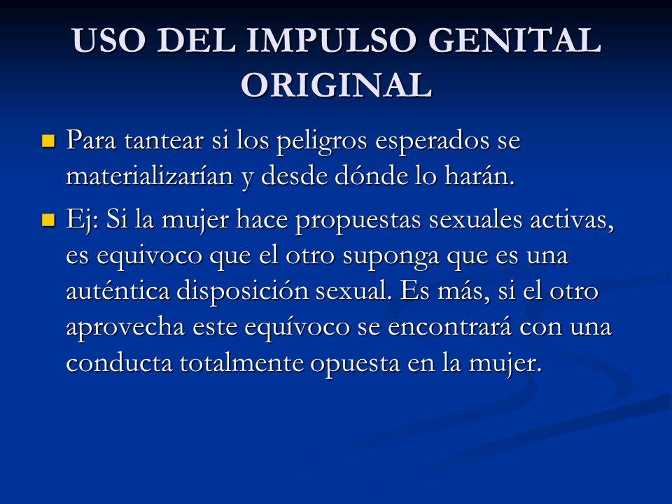 USO DEL IMPULSO GENITAL ORIGINAL