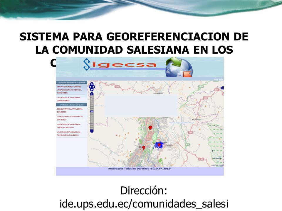 Dirección: ide.ups.edu.ec/comunidades_salesianas