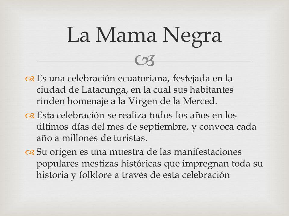La Mama Negra