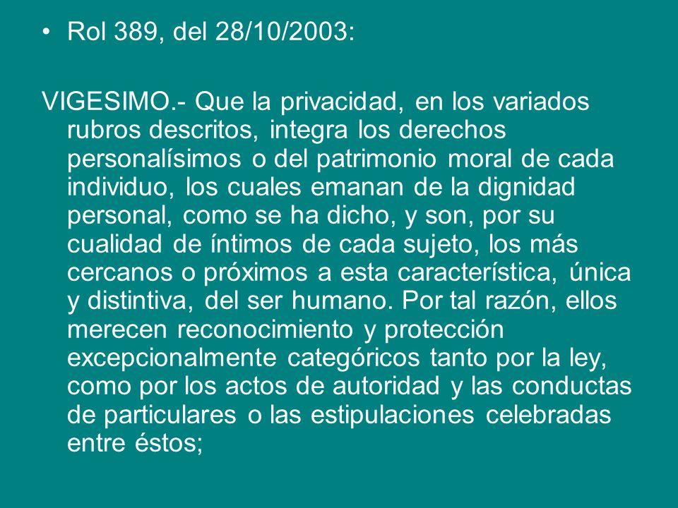 Rol 389, del 28/10/2003: