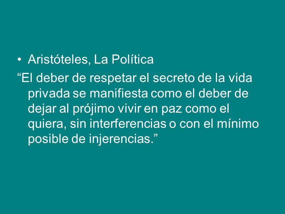 Aristóteles, La Política