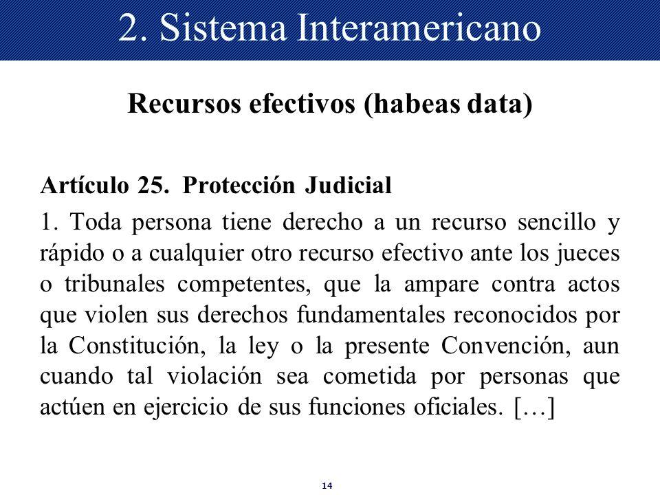2. Sistema Interamericano