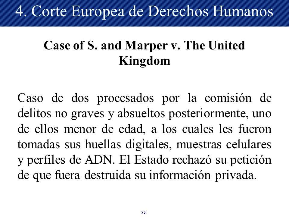 4. Corte Europea de Derechos Humanos