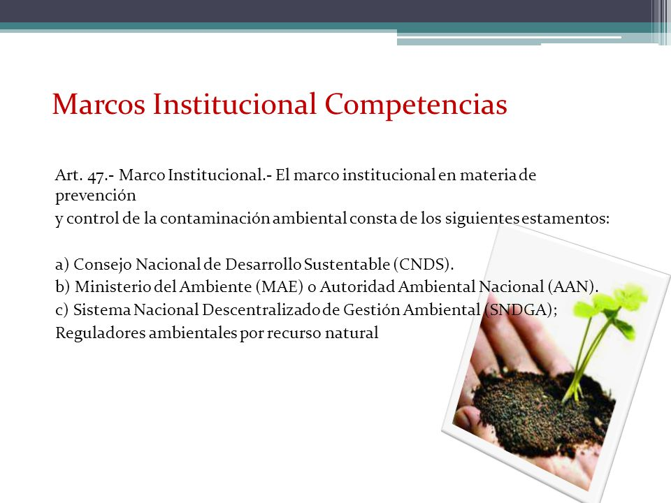 Marcos Institucional Competencias