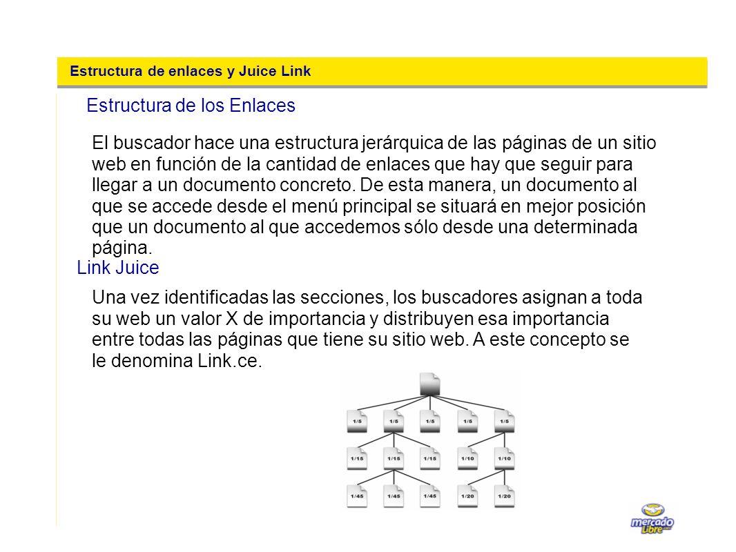Estructura de enlaces y Juice Link