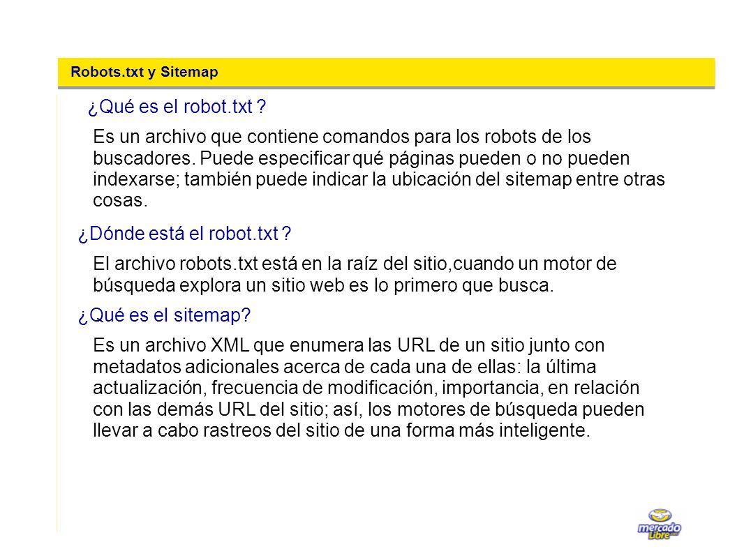 ¿Dónde está el robot.txt