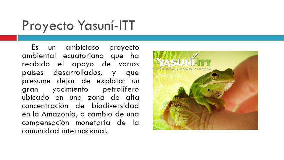 Proyecto Yasuní-ITT