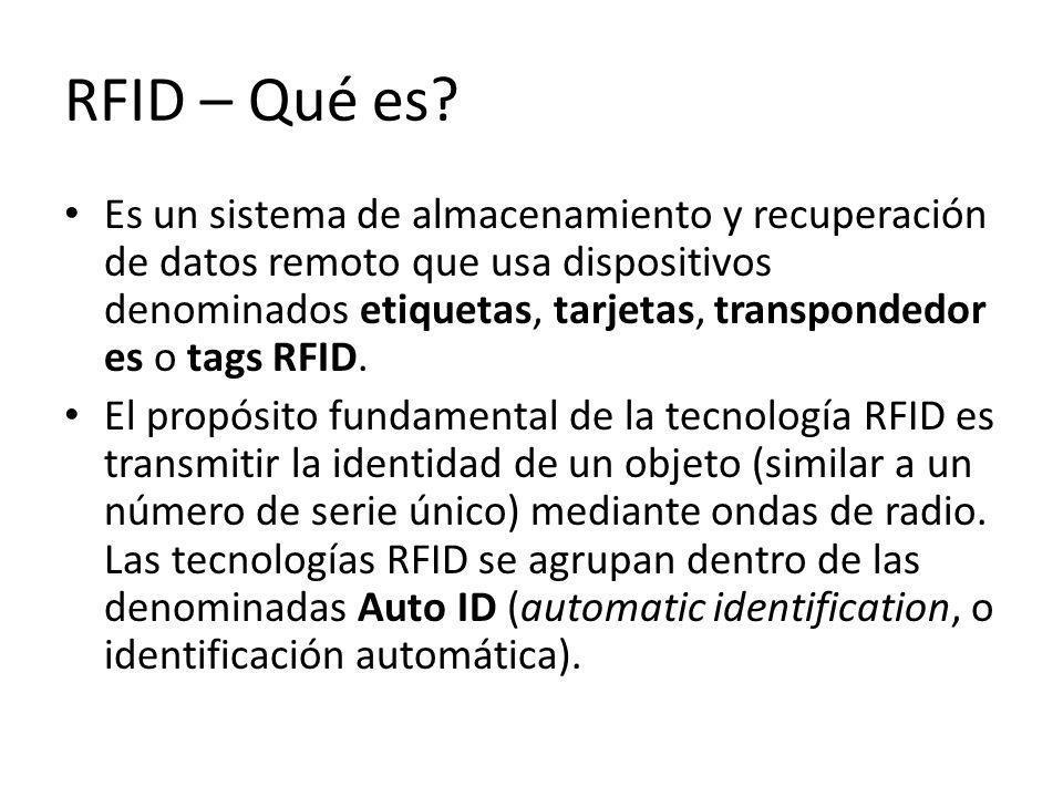 RFID – Qué es