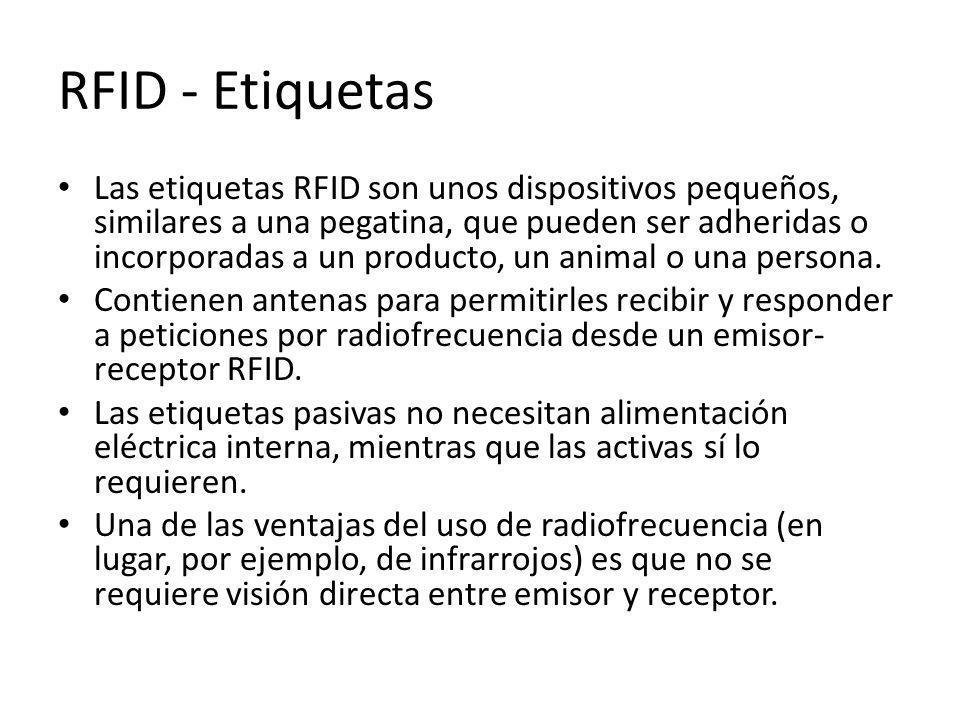 RFID - Etiquetas