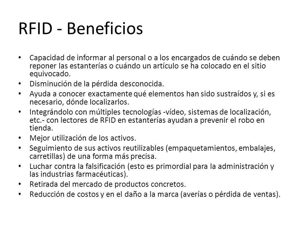 RFID - Beneficios