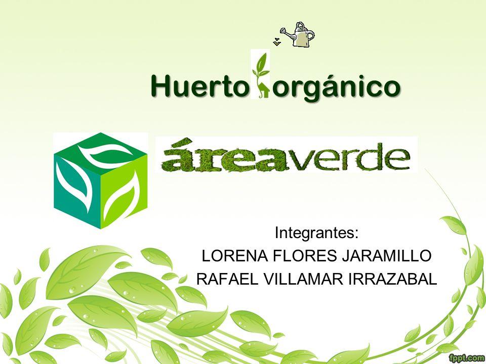 Integrantes: LORENA FLORES JARAMILLO RAFAEL VILLAMAR IRRAZABAL