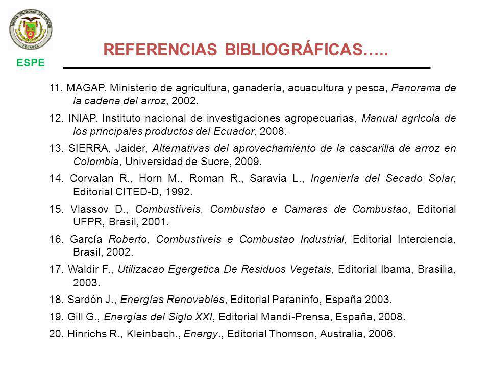 REFERENCIAS BIBLIOGRÁFICAS…..