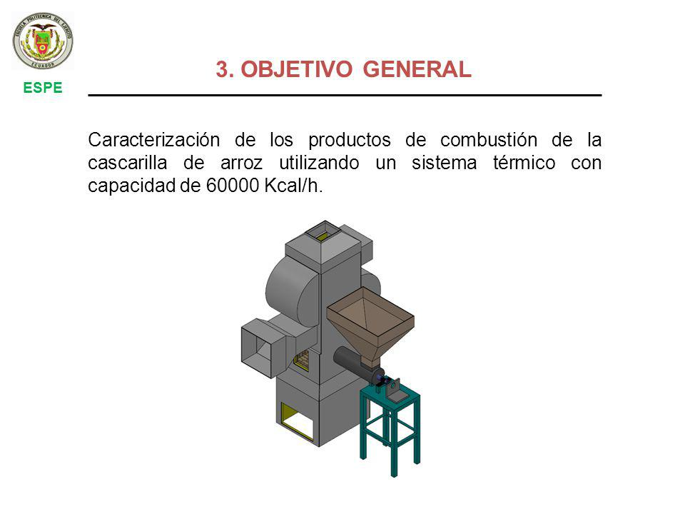 3. OBJETIVO GENERAL ESPE.