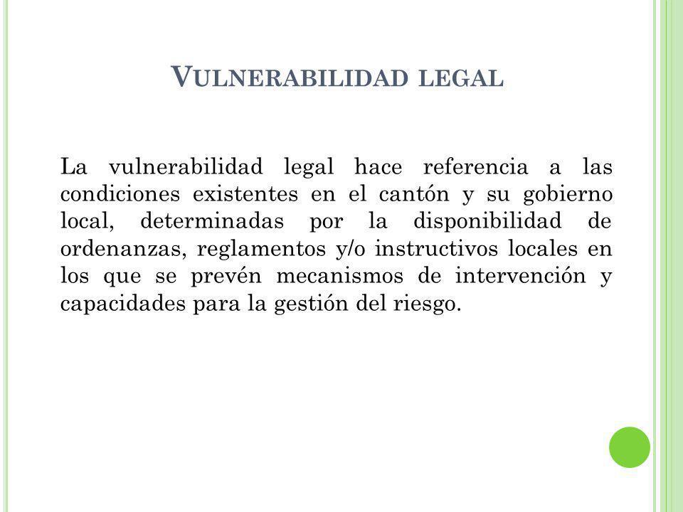 Vulnerabilidad legal