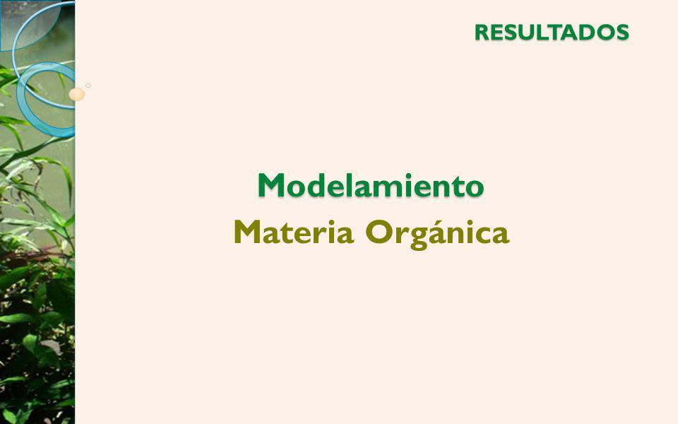 Modelamiento Materia Orgánica