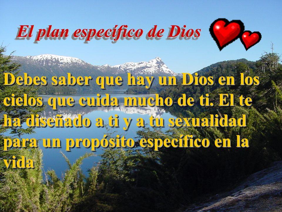 El plan específico de Dios