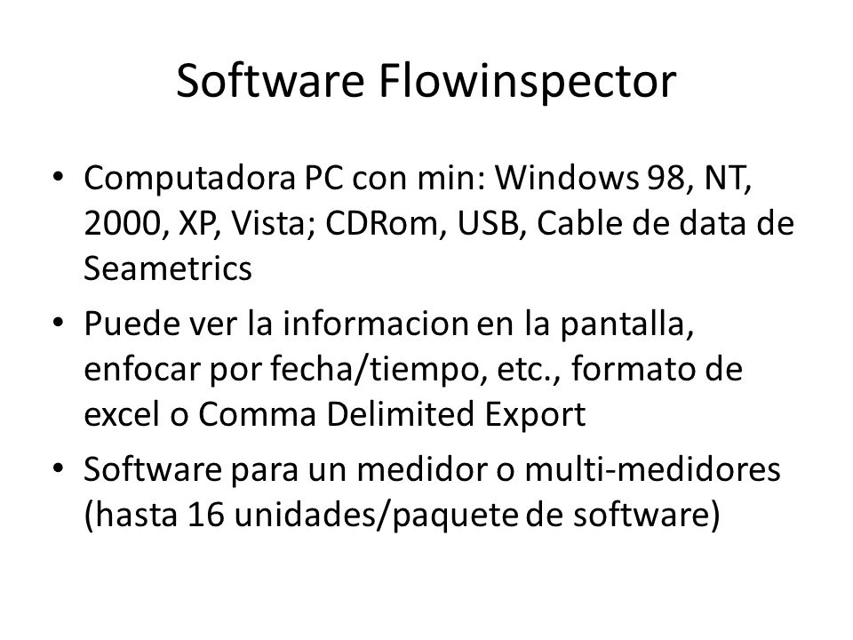 Software Flowinspector