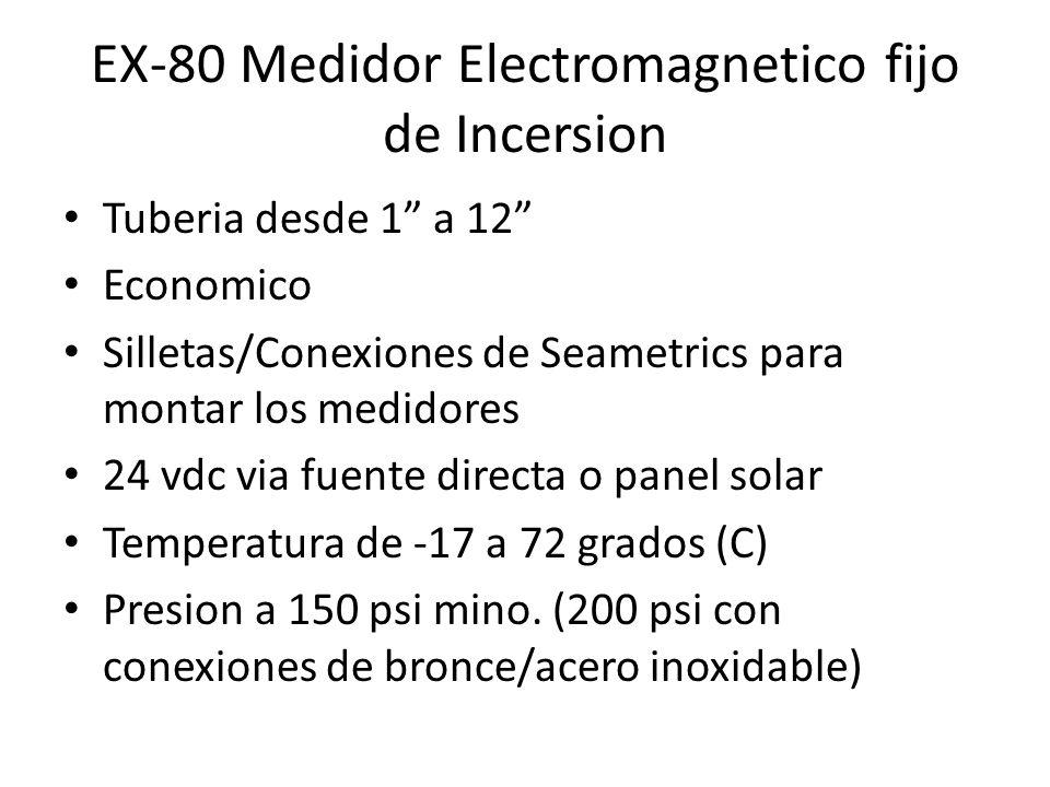 EX-80 Medidor Electromagnetico fijo de Incersion