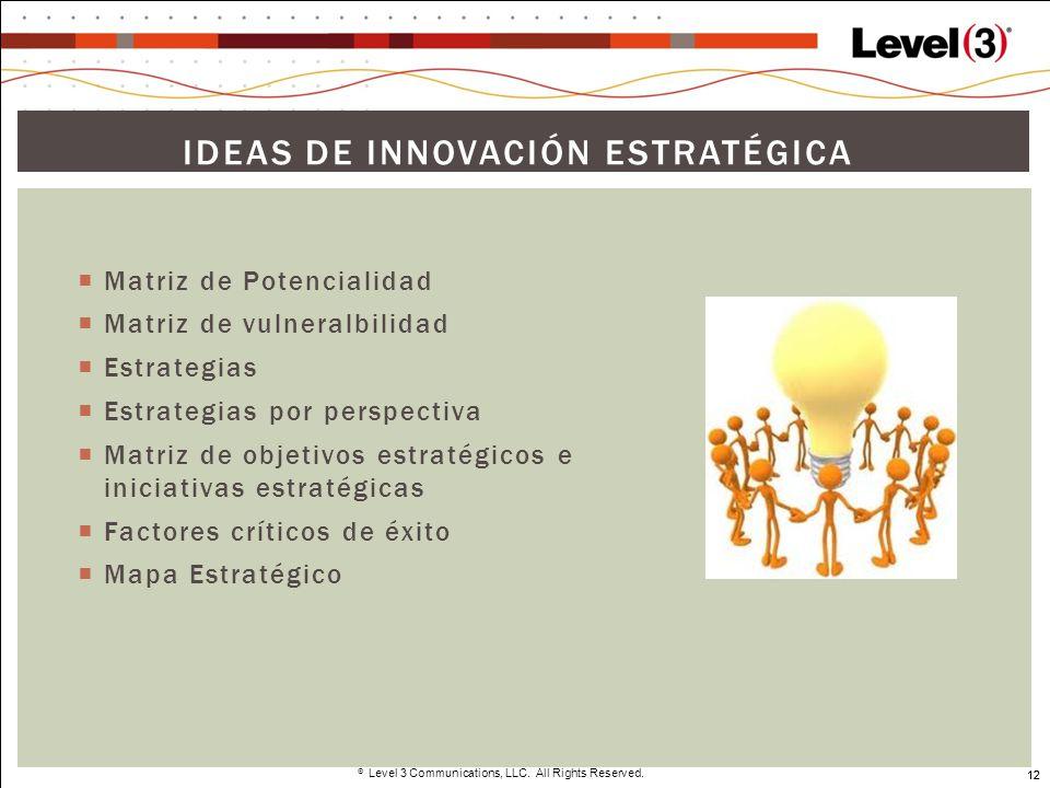 Ideas de innovación estratégica