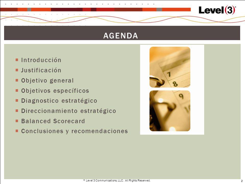 Agenda Introducción Justificación Objetivo general