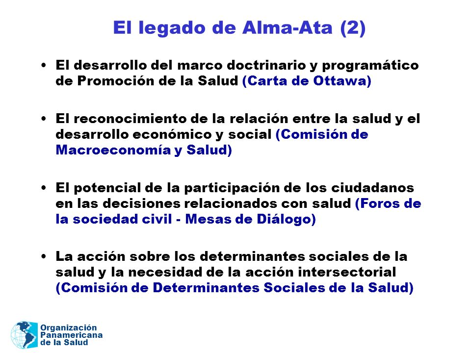 El legado de Alma-Ata (2)