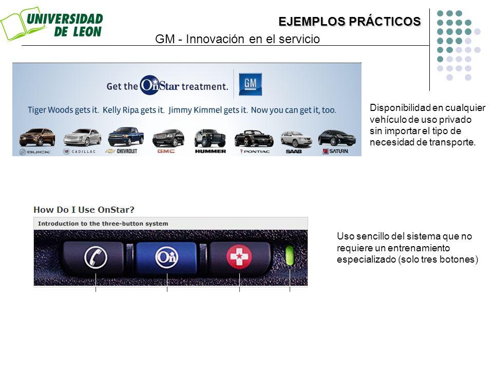 GM - Innovación en el servicio