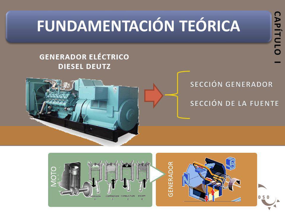 GENERADOR ELÉCTRICO Diesel DEUTZ