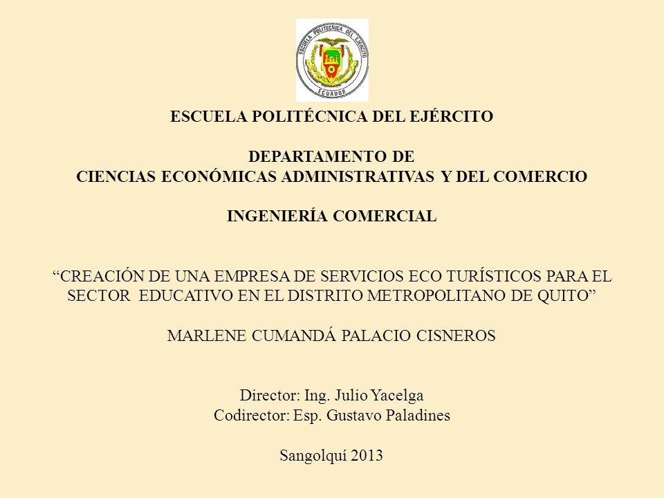 ESCUELA POLITÉCNICA DEL EJÉRCITO DEPARTAMENTO DE