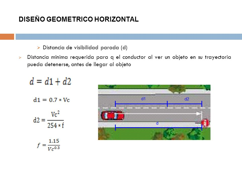 DISEÑO GEOMETRICO HORIZONTAL