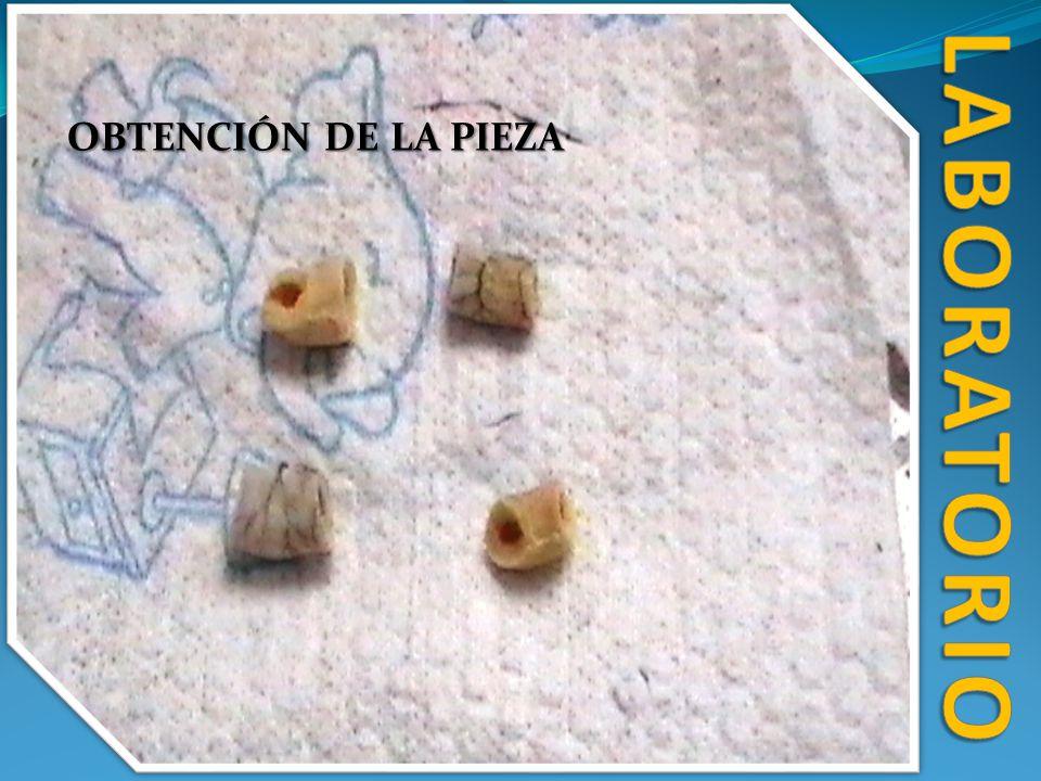 laboratorio OBTENCIÓN DE LA PIEZA