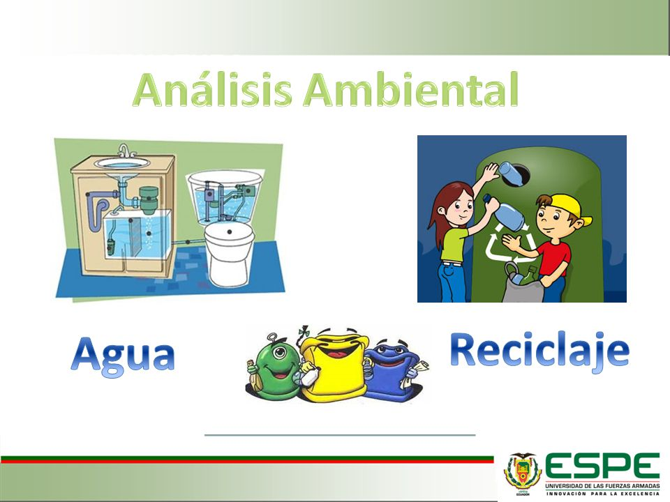 Análisis Ambiental Agua Reciclaje