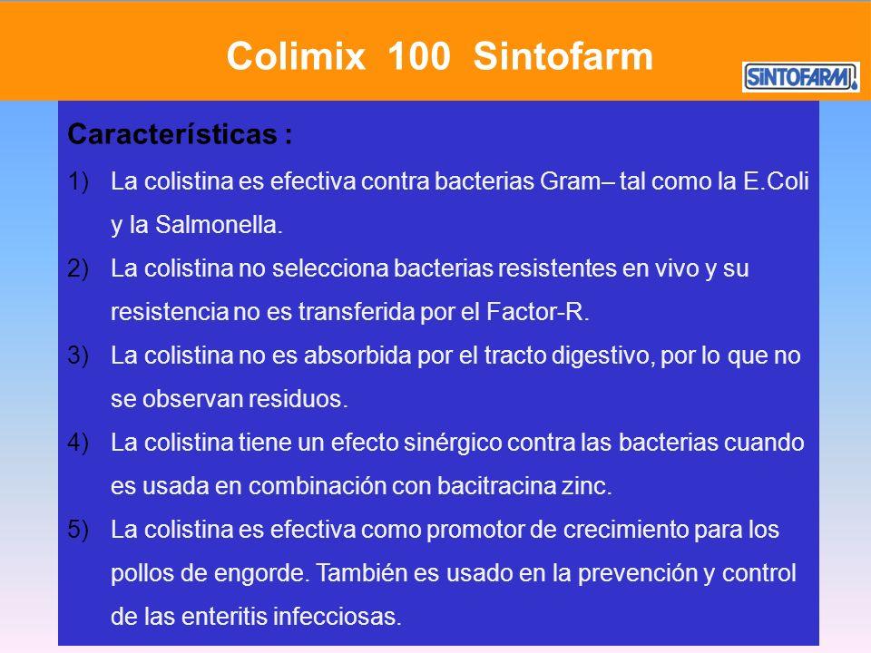 Colimix 100 Sintofarm Características :